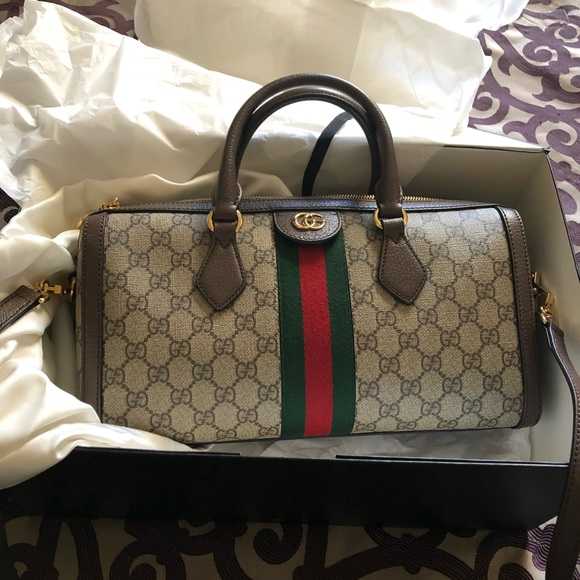 4a44f1769f21 Gucci Bags | Ophidia Gg Medium Top Handle Bag | Poshmark